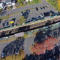 Long Island Railroad station — Greenvale (aerial)