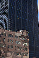 New York . architecture in  lower manhattan new york /   achitecture du sud de Manhattan