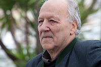 Director Werner Herzog at Family Romance film photo call at the 72nd Cannes Film Festival, Sunday 19th May 2019, Cannes, France. Photo credit: Doreen Kennedy