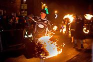Stonehaven fireball ceremony 01-01-2017