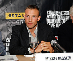 September 4, 2007: Joe Calzaghe vs Mikkel Kessler Press Conference