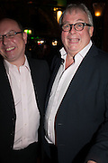 CHRISTOPHER BIGGINS, Press night performance of 'Once' at the Phoenix Theatre, Charing Cross Rd, -after party at Waxy O'Connor's, Rupert St. London. 9 april 2013.