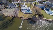 Aerial, 262 Mill Pond Lane in Water Mill, NY