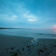 Today's  Summer Sunrise  at Narragansett Town Beach, Narragansett, RI,  August  13, 2013.