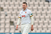 Peter Siddle of Essex during the second day of play in the Specsavers County Champ Div 1 match between Hampshire County Cricket Club and Essex County Cricket Club at the Ageas Bowl, Southampton, United Kingdom on 28 April 2018. Picture by Graham Hunt.