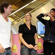 NLD/Amsterdam/20070922 - Opening Woenzel en Pip shop Bijenkorf, Johnny de Mol, Babette van Veen en Dinand Woesthoff