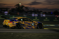 March 14, 2019 - Sebring, Etats Unis - 96 TURNER MOTORSPORT (USA) BMW M6 GT3 GTD BILL AUBERLEN (USA) ROBBY FOLEY (USA) DILLON MACHAVERN  (Credit Image: © Panoramic via ZUMA Press)