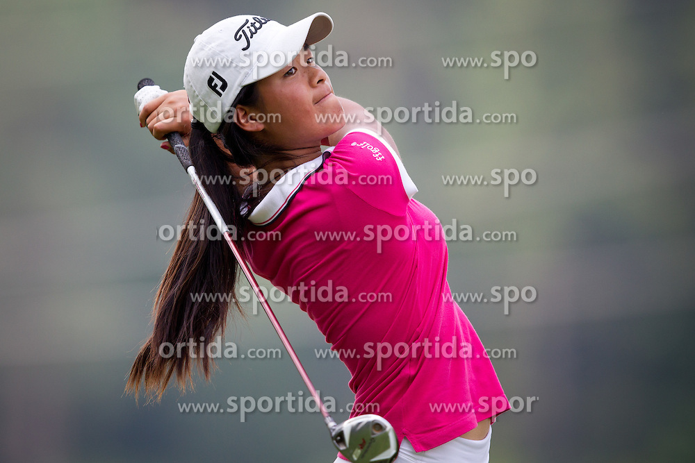CELINE BOUTIER of France during golf competition in final day of International European Ladies Amateur Championship 2012, on July 28, 2012 in Smlednik at Ljubljana, Slovenia. (Photo by Matic Klansek Velej / Sportida.com)