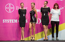 Assistant girls during Prologue - Time Trial (2km) at 26th Giro Rosa 2015 Women cycling race, on July 3, 2015 in Centre, Ljubljana,  Slovenia. Photo by Vid Ponikvar / Sportida