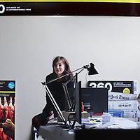Nederland, Amsterdam , 15 juni 2012..Katrien Gottlieb Journaliste, schrijfster en hoofdredacteur van het Internationale magazine 360.Foto:Jean-Pierre Jans