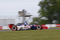 June 22, 2018 - Elkhart Lake, Wisconsin, United States of America - TONY KANAAN (14) of Brazil takes to the track to practice for the KOHLER Grand Prix at Road America in Elkhart Lake, Wisconsin. (Credit Image: © Justin R. Noe Asp Inc/ASP via ZUMA Wire)