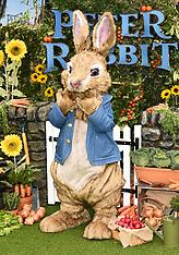 11 MARCH 2018 Peter Rabbit UK Gala Premiere