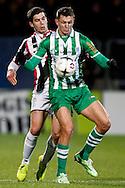 Onderwerp/Subject: Willem II - PEC Zwolle - Eredivisie<br /> Reklame:  <br /> Club/Team/Country: <br /> Seizoen/Season: 2014/2015<br /> FOTO/PHOTO: Dries WUYTENS (L) of Willem II in duel with Tomas NECID (R) of PEC Zwolle. (Photo by PICS UNITED)<br /> <br /> Trefwoorden/Keywords: <br /> #04 #22 $64 ±1401974349562<br /> Photo- & Copyrights © PICS UNITED <br /> P.O. Box 7164 - 5605 BE  EINDHOVEN (THE NETHERLANDS) <br /> Phone +31 (0)40 296 28 00 <br /> Fax +31 (0) 40 248 47 43 <br /> http://www.pics-united.com <br /> e-mail : sales@pics-united.com (If you would like to raise any issues regarding any aspects of products / service of PICS UNITED) or <br /> e-mail : sales@pics-united.com   <br /> <br /> ATTENTIE: <br /> Publicatie ook bij aanbieding door derden is slechts toegestaan na verkregen toestemming van Pics United. <br /> VOLLEDIGE NAAMSVERMELDING IS VERPLICHT! (© PICS UNITED/Naam Fotograaf, zie veld 4 van de bestandsinfo 'credits') <br /> ATTENTION:  <br /> © Pics United. Reproduction/publication of this photo by any parties is only permitted after authorisation is sought and obtained from  PICS UNITED- THE NETHERLANDS
