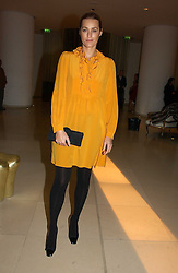 YASMIN LE BON at a Burns Night dinner in aid of CLIC Sargent and Children's Hospice Association Scotland held at St.Martin's Lane Hotel, St.Martin's Lane, London on 25th January 2007.<br /><br />NON EXCLUSIVE - WORLD RIGHTS