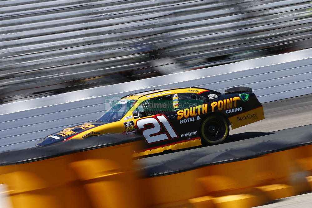 July 20, 2018 - Loudon, New Hampshire, United States of America - Daniel Hemric (21) takes to the track to practice for the Lakes Region 200 at New Hampshire Motor Speedway in Loudon, New Hampshire. (Credit Image: © Justin R. Noe Asp Inc/ASP via ZUMA Wire)