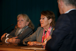 Klimke Ruth, Rosner Claudia, (GER)<br /> Greatest Dressage Horses Ever, Ahlerich<br /> Global Dressage Forum<br /> Academy Bartels - Hooge Mierden 2015<br /> © Hippo Foto - Dirk Caremans<br /> 26/10/15