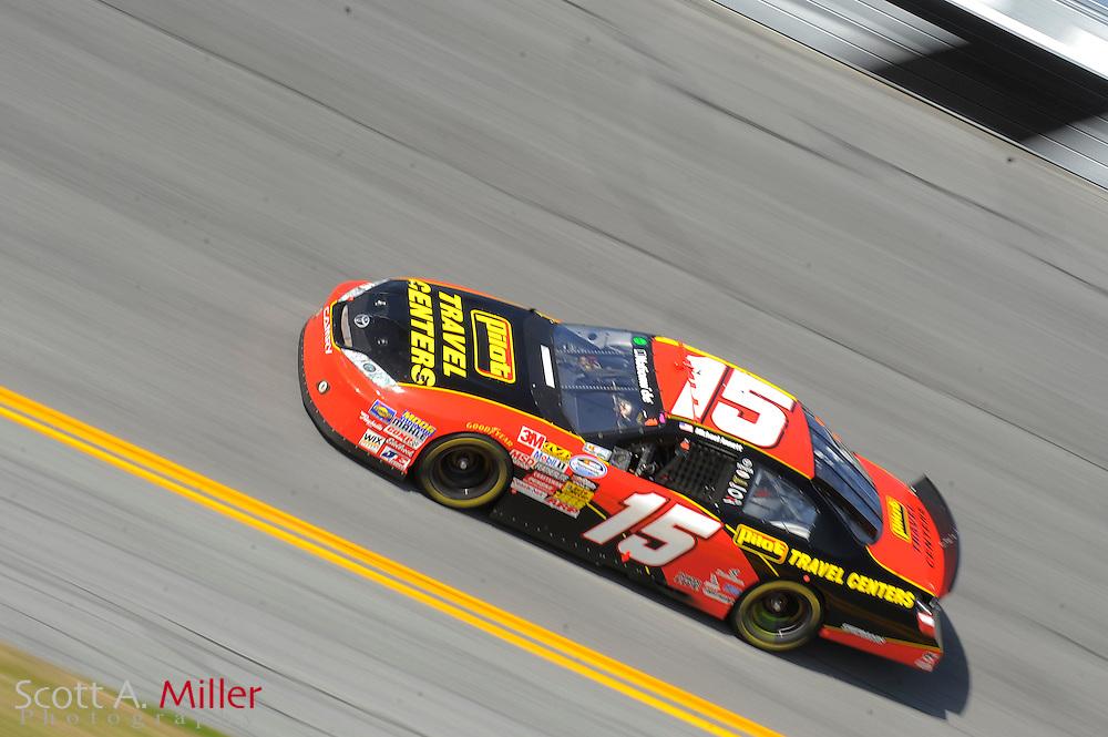 Feb. 13, 2010; Daytona Beach, FL, USA; Nationwide Series driver Michael Annett (15) during the Drive4COPD 300  at Daytona International Speedway. ©2010 Scott A. Miller