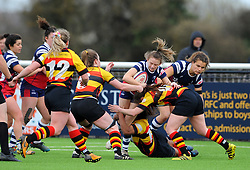 Lucy Burgess of Bristol Bears Women in action - Mandatory by-line: Nizaam Jones/JMP - 23/03/2019 - RUGBY - Shaftesbury Park - Bristol, England - Bristol Bears Women v Richmond Women- Tyrrells Premier 15s