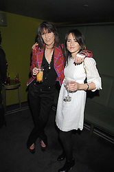 Left to right, CHRISSIE HYNDE and KT TUNSTALL at 'Not Another Burns Night' in association with CLIC Sargebt and Children's Hospice Association Scotland held at ST.Martins Lane Hotel, London on 3rd March 2008.<br />
