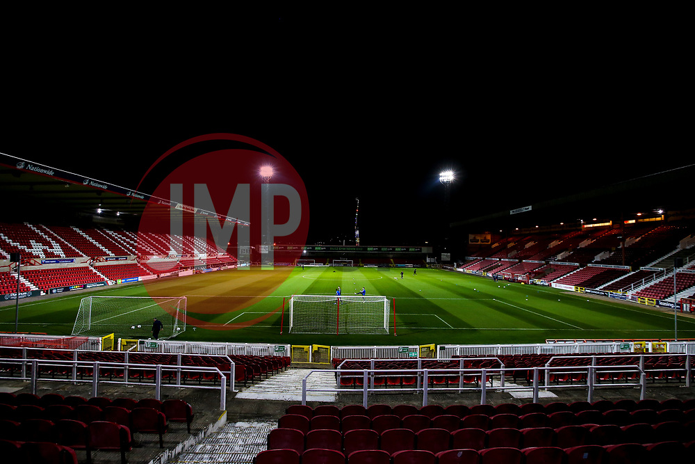 The County Ground, home to Swindon Town - Mandatory by-line: Robbie Stephenson/JMP - 29/10/2019 - FOOTBALL - County Ground - Swindon, England - Swindon Town v Bristol Rovers - FA Youth Cup Round One