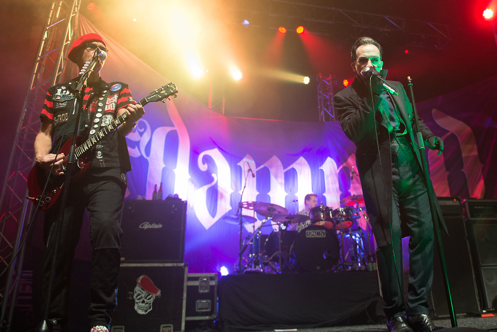 The Damned in concert at The O2 Academy Glasgow, Great Britain 28th January 2018