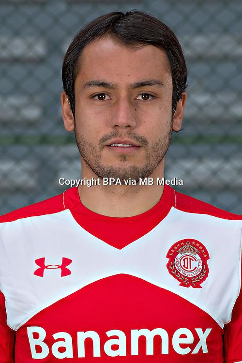 Mexico League - BBVA Bancomer MX 2015-2016 - <br /> Diablos Rojos - Deportivo Toluca Futbol Club - Mexico /  <br /> Christian Perez