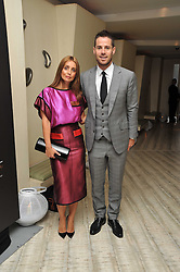 JAMIE & LOUISE REDKNAPP at the second night of the Tomodachi (Friends) Charity Dinners hosted by Chef Nobu Matsuhisa in aid of the Japanese committee for UNICEF held at Nobu Berkeley, Berkeley Street, London on 5th May 2011.