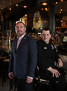 Owner Adolfo Garcia and chef Chris Lorenz on Tuesday, March 25, 2014 at Pearl Tavern. (Brian Cassella/Chicago Tribune) B583619996Z.1 <br /> ....OUTSIDE TRIBUNE CO.- NO MAGS,  NO SALES, NO INTERNET, NO TV, CHICAGO OUT, NO DIGITAL MANIPULATION...