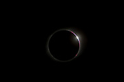 Solar Eclipse, 2017, Bailey's Beads, Totality