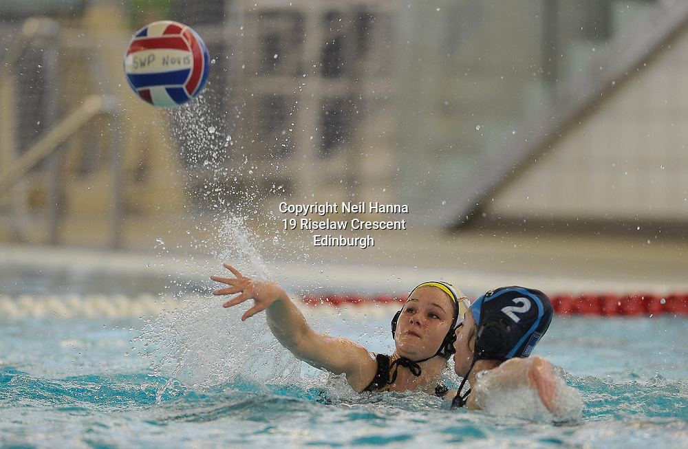 Water Polo Cup Finals Day<br /> <br /> U19 Annette Mooney Memorial Trophy (Women)<br /> <br /> Stirling vs Dunfermline<br /> <br />  Neil Hanna Photography<br /> www.neilhannaphotography.co.uk<br /> 07702 246823