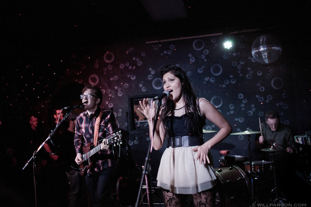 Rafter performs at Bar Pink in San Diego's North Park community, March 2, 2011.