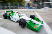 September 1-3, 2011. Simona Di Silvestro, Indycar Grand Prix of Baltimore around the inner harbor.