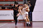 Massimo Chessa<br /> Virtus Roma - Metextra Reggio Calabria<br /> Campionato Basket LNP 2017/2018<br /> Roma 21/01/2018<br /> Foto Gennaro Masi / Ciamillo - Castoria