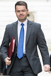 Downing Street, London, October 25th 2016. Northern Ireland Secretary James Brokenshire arrives at 10 Downing Street for the weekly cabinet following a Heathrow Third Runway Sub-Committee meeting at the same venue.