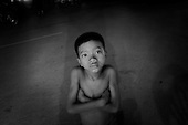 Street Kid In Siem Reap, cambodia