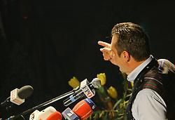 09.03.2011, Jahnturnhalle, Oberoesterreich, AUT, Ried im Innkreis, politischer Aschermittwoch, FPOE, im Bild HC Strache, Heinz Christian Strache im Portrait, EXPA Pictures © 2011, PhotoCredit: EXPA/ D. Scharinger