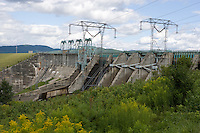 Moore Dam near Littleton, NH is the largest dam on the Connecticut River.