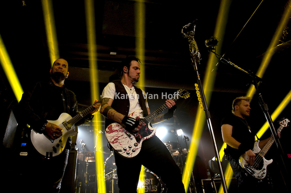 Three Days Grace at the A&R Music Bar in Columbus, OH on October 15, 2012