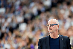 Henrik Dettmann, head coach of Finland during basketball match between National Teams of Finland and Slovenia at Day 3 of the FIBA EuroBasket 2017 at Hartwall Arena in Helsinki, Finland on September 2, 2017. Photo by Vid Ponikvar / Sportida