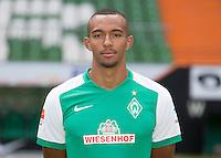 German Soccer Bundesliga 2015/16 - Photocall of Werder Bremen on 10 July 2015 in Bremen, Germany: Melvyn Lorenzen