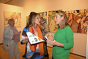 NELL BUTLER; , Exhibition opening of paintings by Charlotte Johnson Wahl. Mall Galleries. London, 10 September 2015.