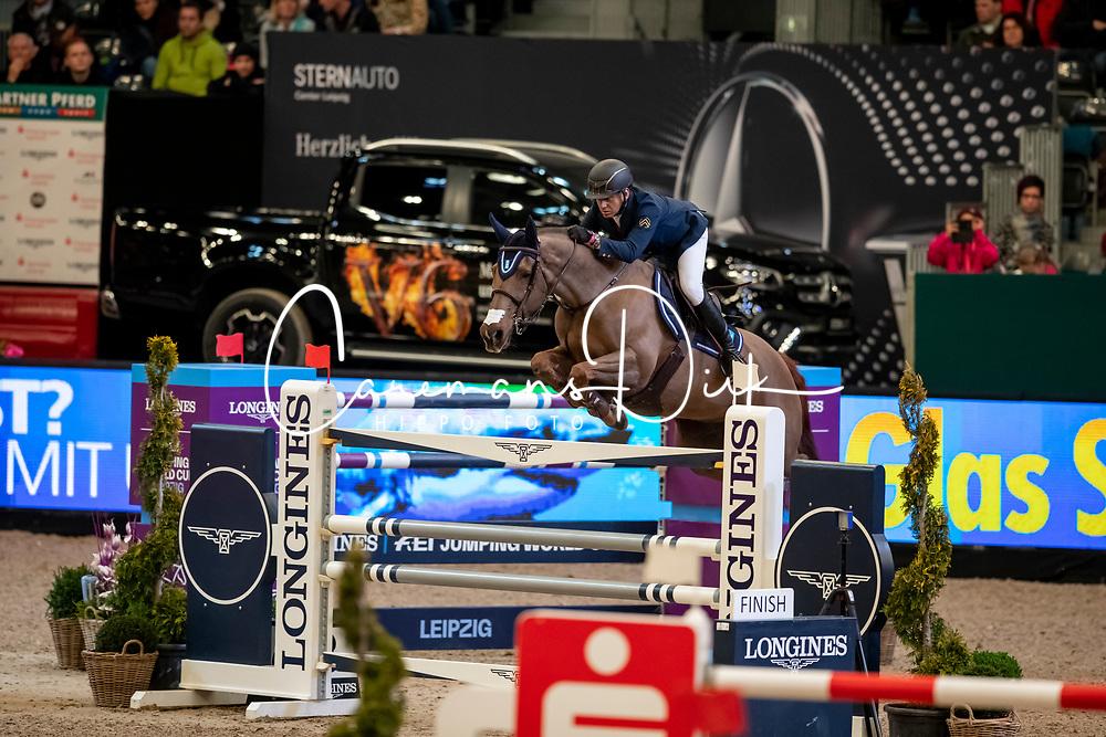 El Dahan Sameh, EGY, Suma's Zorro<br /> Leipzig - Partner Pferd 2019<br /> © Hippo Foto - Stefan Lafrentz