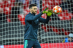 February 13, 2019 - London, England, United Kingdom - Tottenham goalkeeper Hugo Lloris warms up during the UEFA Champions League match between Tottenham Hotspur and Ballspielverein Borussia 09 e.V. Dortmund at Wembley Stadium, London on Wednesday 13th February 2019. (Credit: Jon Bromley | MI News & Sport Ltd) (Credit Image: © Mi News/NurPhoto via ZUMA Press)