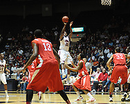 """Ole Miss' Nick Williams (20) vs. Illinois State in a National Invitational Tournament game at the C.M. """"Tad"""" Smith Coliseum in Oxford, Miss. on Wednesday, March 14, 2012. Illinois State won 96-93 in overtime. (AP Photo/Oxford Eagle, Bruce Newman)"""