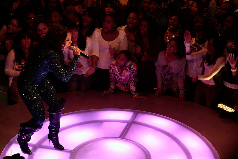 6 October 2010- New York, New York- Ashanti performs at The 10th Anniversary Celebration of BET's 106 & Park, BET's most popular music series of all time held at CBS Studios on October 6, 2010 in New York City. Photo Credit: Terrence Jennings