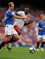 Claude Makelele<br /> Paris Saint Germain 2009/10<br /> Steven Whittaker Rangers<br /> Rangers V Paris Saint Germain 01/08/09 at the Emirates Stadium<br /> The Emirates Cup 2009<br /> Photo Robin Parker Fotosports International