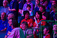 Atmosphere during the Davis Cup by BNP Paribas match between Great Britain and Japan at the National Indoor Arena, Birmingham, England.<br /> Picture by Anthony Stanley/Focus Images Ltd 07833 396363<br /> 04/03/2016