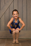 The Dance Company of Los Gatos competition students pose for their recital portraits during Photo Day at The Dance Company of Los Gatos in Los Gatos, California, on June 13, 2014. (Stan Olszewski/SOSKIphoto)