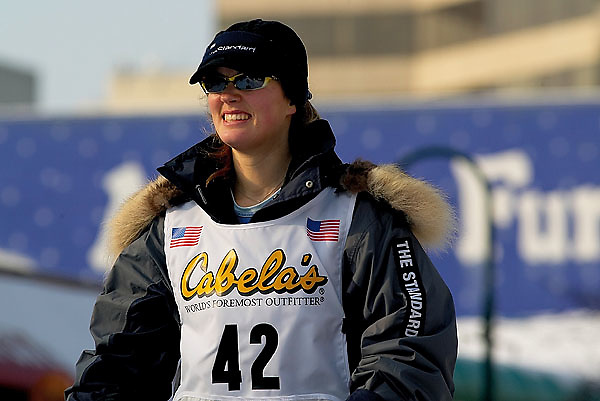 04 March 2006: Anchorage, Alaska - Ceremonial Start in downtown Anchorage of the 2006 Iditarod Sled Dog Race