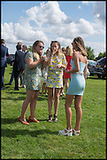 CELIA BODDY; ROSE GREVILLE WILLIAMS; CHARLOTTE CLARKE, Ebor Festival, York Races, 20 August 2014